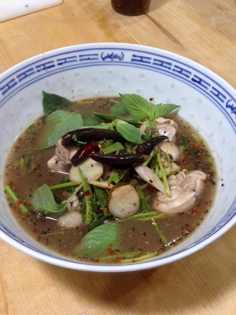 Lao Cafe - London Food Blog - Chicken soup