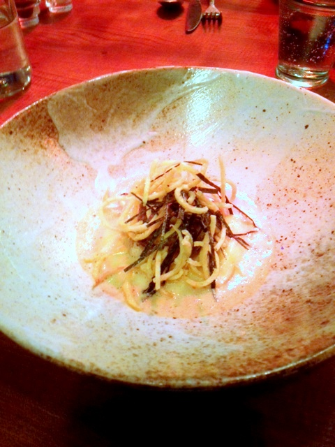 The Frog - London Food Blog - Celeriac