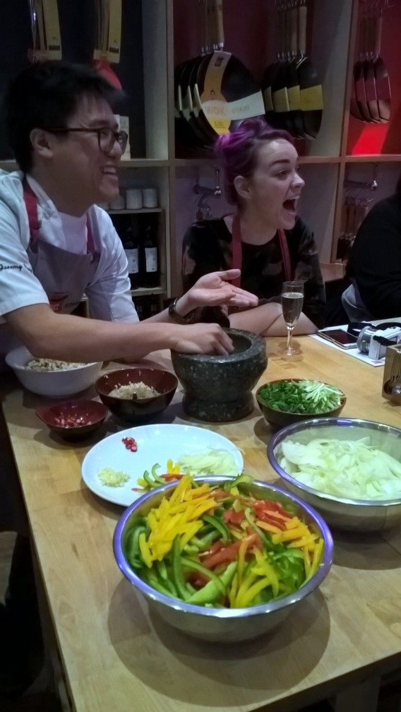 School of Wok - London Food Blog - Woking with Jeremy Pang