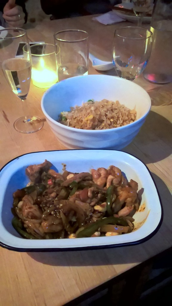 School of Wok - London Food Blog - Chicken Sichuan & Fried rice