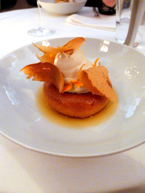 Helene Darroze - London Food Blog - Signature Savarin