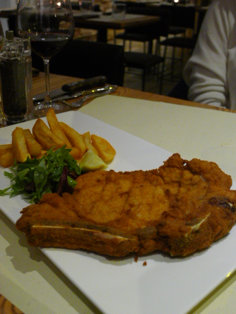 Qvintessenza – London Food Blog – Veal Milanese