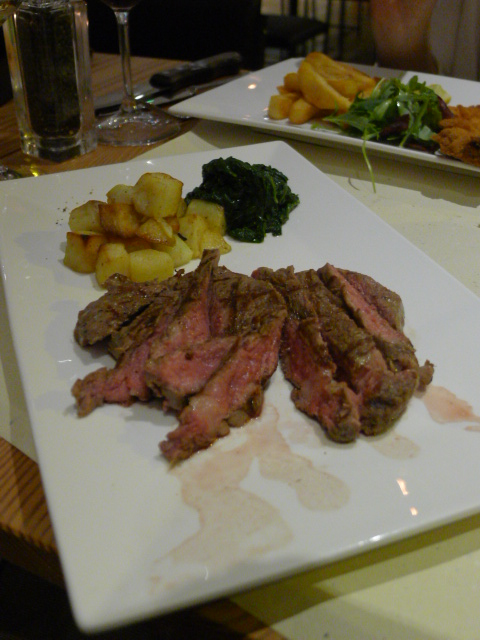 Qvintessenza – London Food Blog – Ribeye