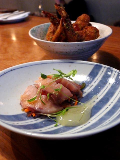 Bo Drake - London Food Blog - Yellowtail sashimi