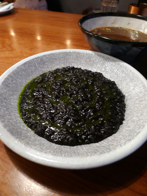 Bo Drake - London Food Blog - Black ink risotto