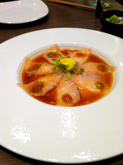 Oliver Maki - London Food Blog - Yellowtail sashimi