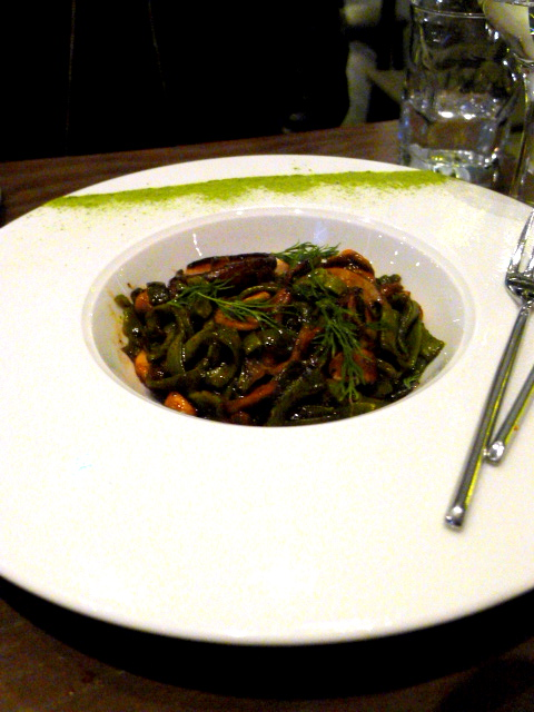 Oliver Maki - London Food Blog - Green tea udon