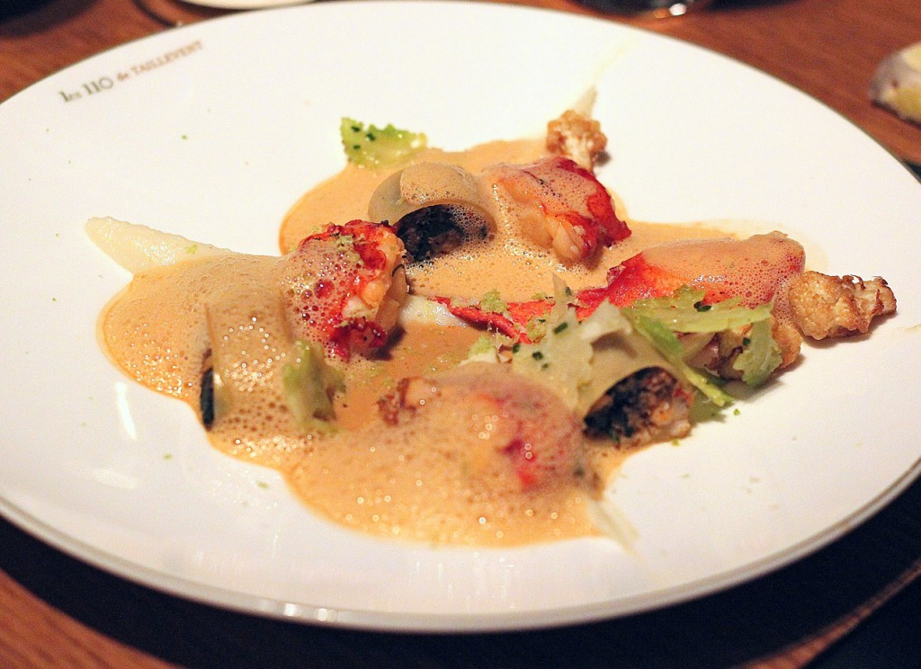 Les 110 de Taillevent - London Food Blog - Lobster & cannelloni