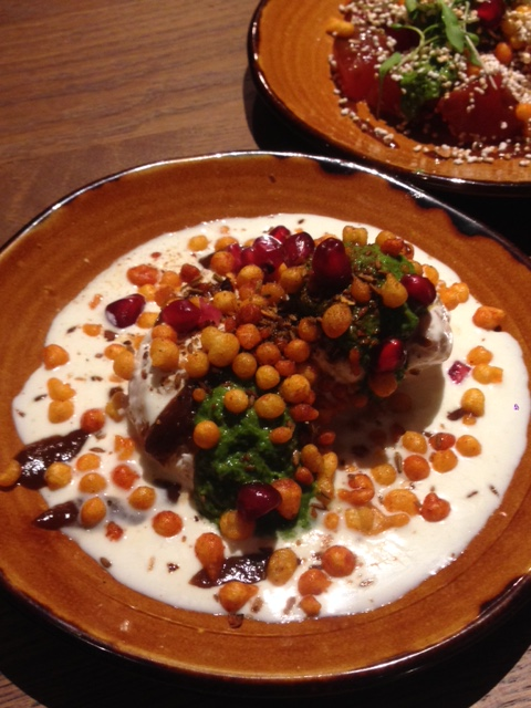 Cinnamon Bazaar - London Food Blog - Aloo tikki chaat