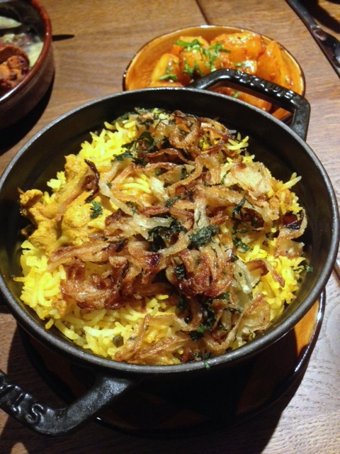 Cinnamon Bazaar - London Food Blog - Biriyani