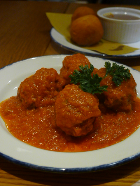 Amici Miei - London Food Blog - Meatballs