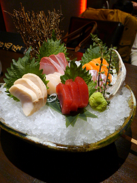 C&R Izakaya - London Food Blog - Aki sashimi set