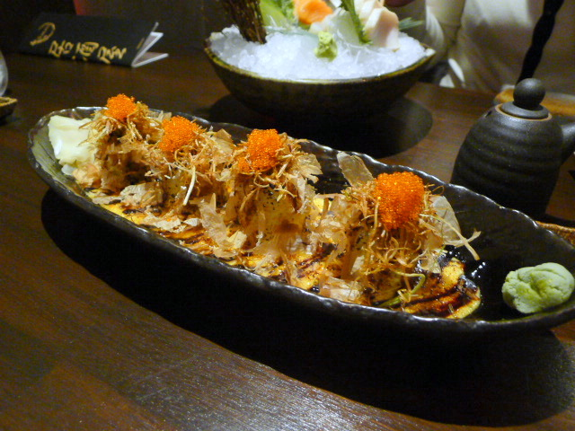 C&R Izakaya - London Food Blog - Volcano Maki