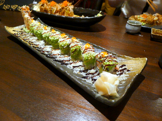 C&R Izakaya - London Food Blog - Dragon Maki