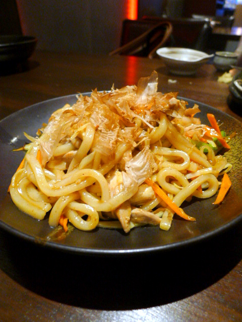 C&R Izakaya - London Food Blog - Yaki udon