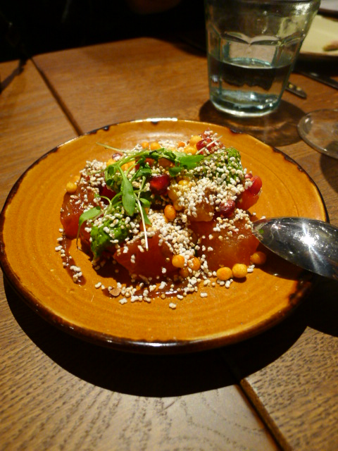 Cinnamon Bazaar - London Food Blog - Watermelon chaat