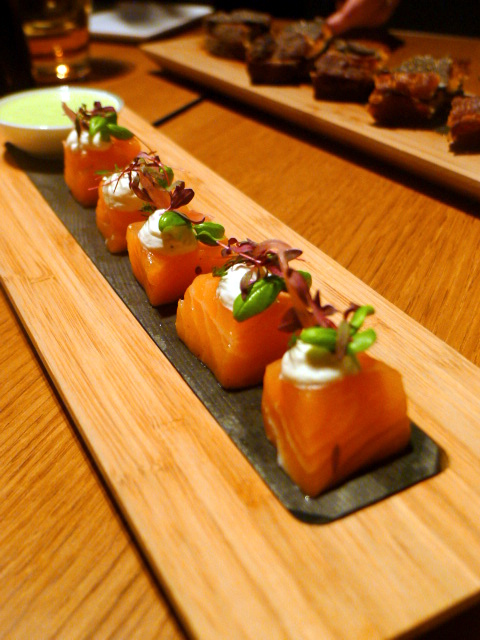 Les 110 de Taillevent - London Food Blog - Confit salmon