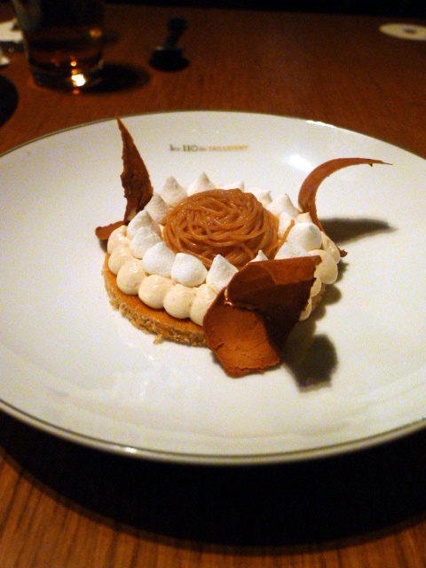 Les 110 de Taillevent - London Food Blog - Mont-blanc
