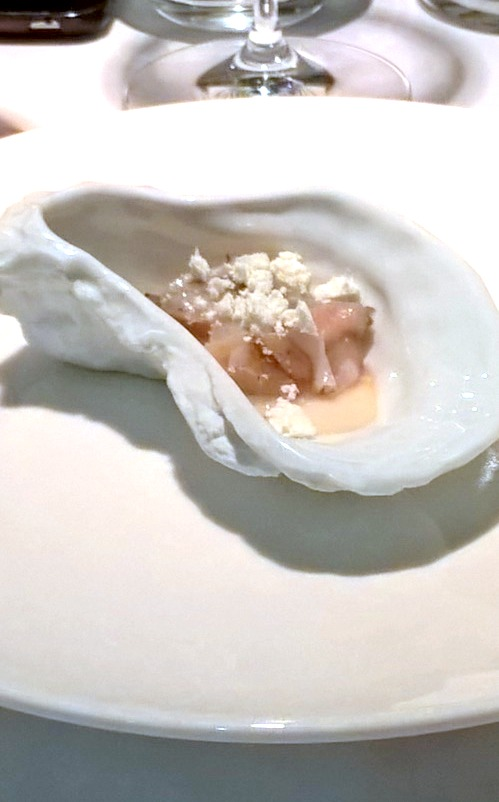Bella Cosa - London Food Blog - Scallop amuse bouche