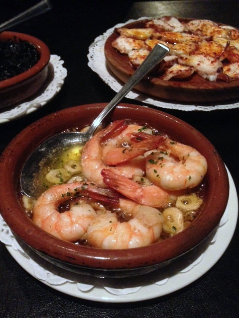 El Pirata - London Food Blog - Gambas
