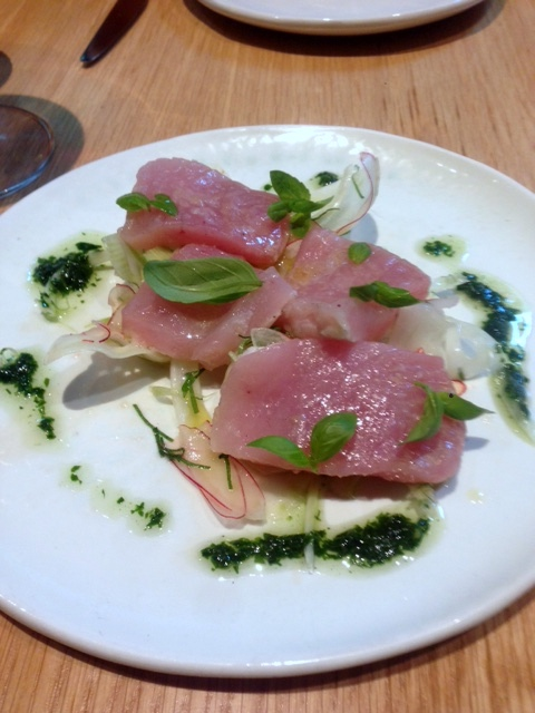 Firedoor - London Food Blog - Albacore tuna