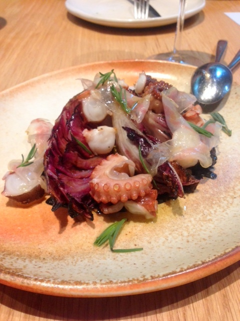 Firedoor - London Food Blog - Octopus