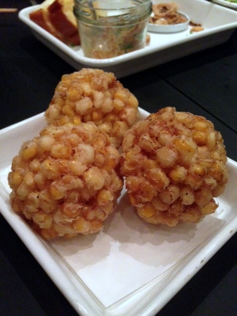 Yardbird - London Food Blog - Sweet corn tempura