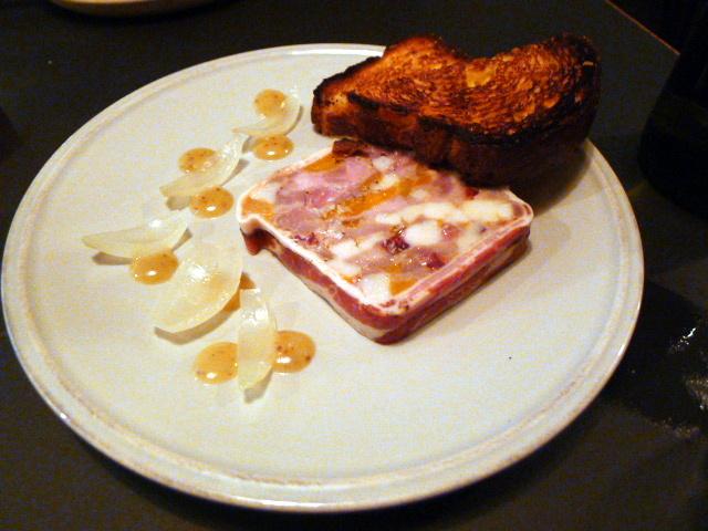 The Laughing Heart - London Food Blog - Pork terrine