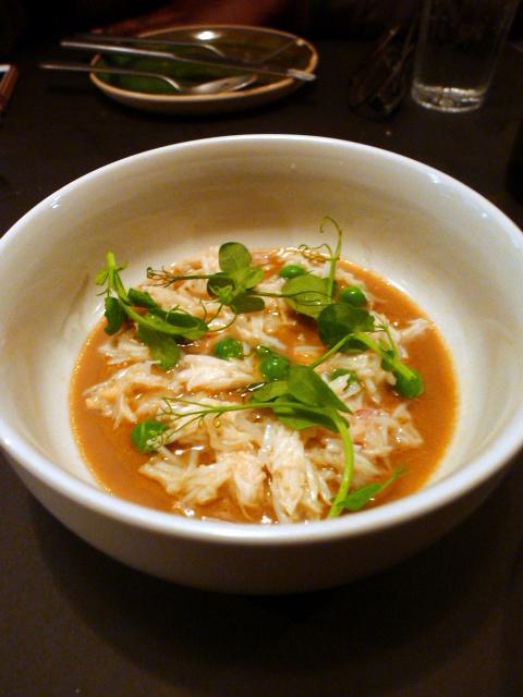 The Laughing Heart - London Food Blog - Crab chawanmushi
