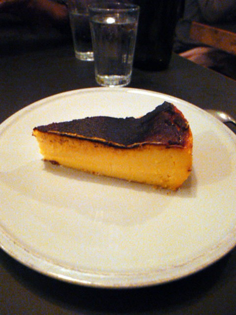 The Laughing Heart - London Food Blog - Basque cheesecake