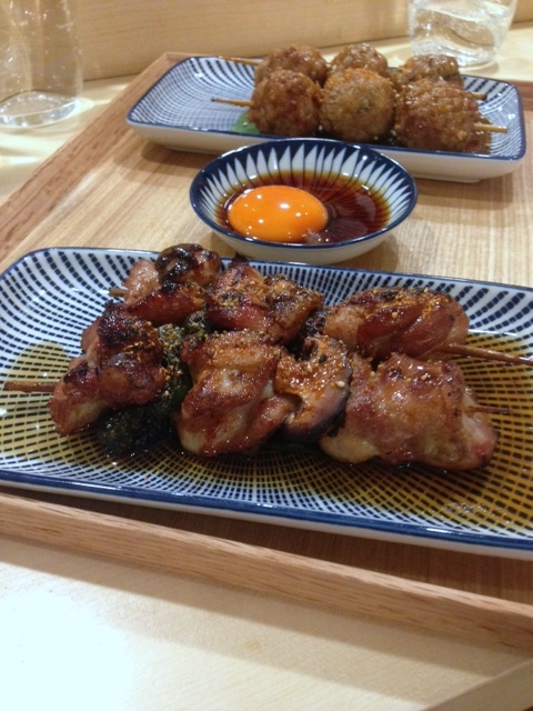 Machiya - London Food Blog - Chicken yakitori