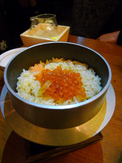 Sakagura - London Food Blog - Sea bream rice