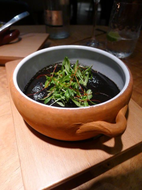 Eneko - London Food Blog - Squid in ink