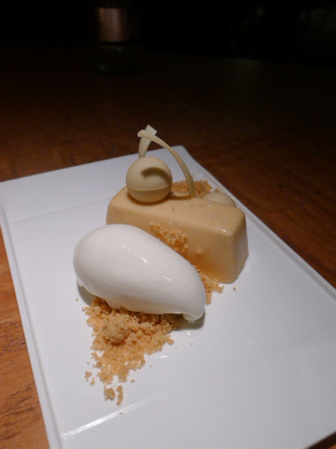 Eneko - London Food Blog - Salted caramel