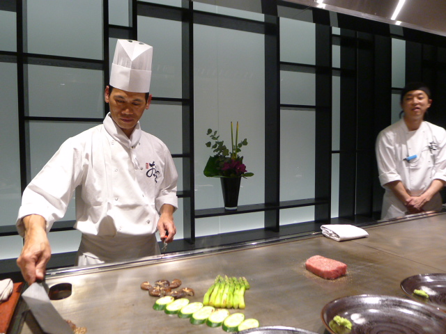 Ginza Onodera - London food blog - Vegetable cooking
