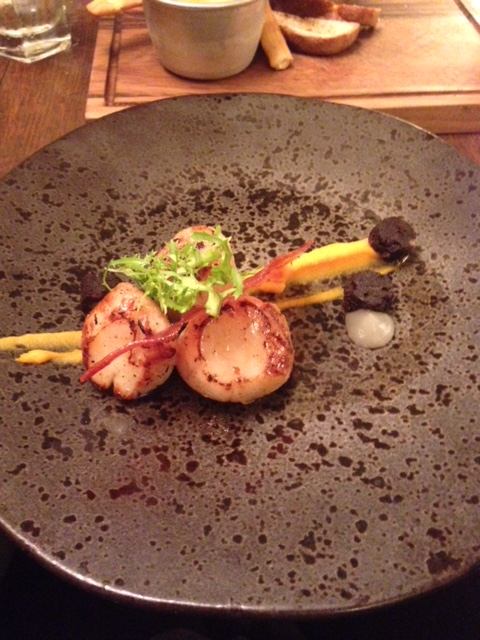 The Stag and Huntsman - London Food Blog - Scallops