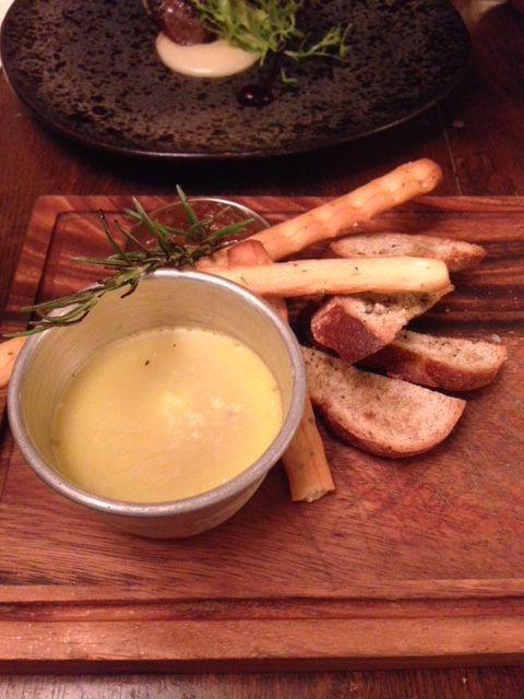 The Stag and Huntsman - London Food Blog - Duck liver parfait