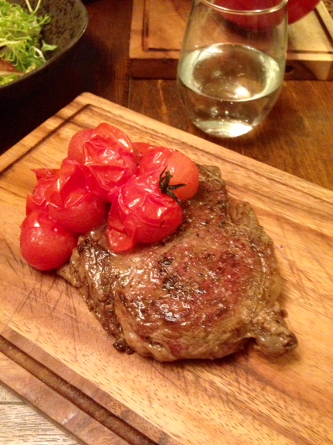 The Stag and Huntsman - London Food Blog - Rib eye