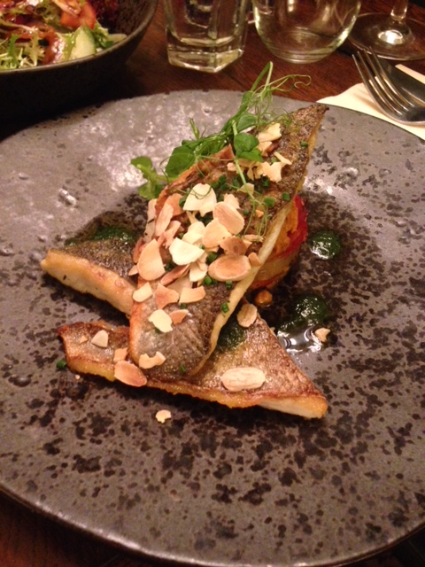 The Stag and Huntsman - London Food Blog - Sea bream