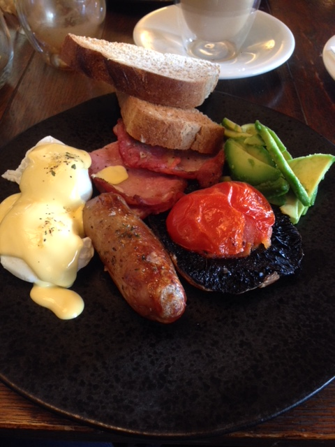 The Stag and Huntsman - London Food Blog - A modified English breakfast