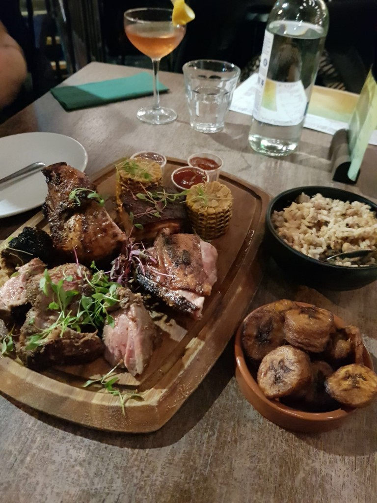 Rudie's Dalston - London Food Blog - Yeah Mon platter