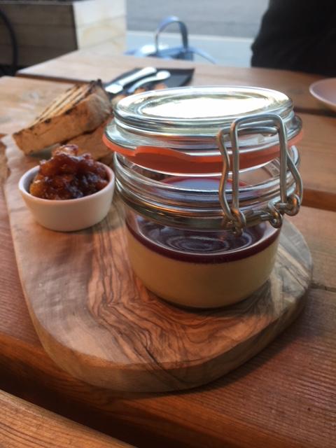 Wellbourne Brassiere - London Food Blog - Chicken liver parfait