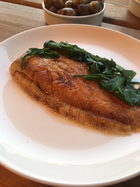 Wellbourne Brassiere - London Food Blog - Lemon sole
