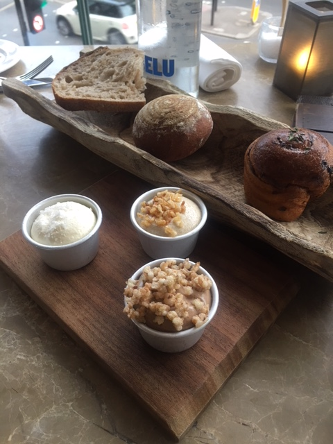 Plate Restaurant - London Food Blog - Bread flight