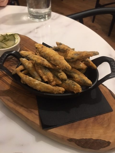 London Food Blog - Whitebait