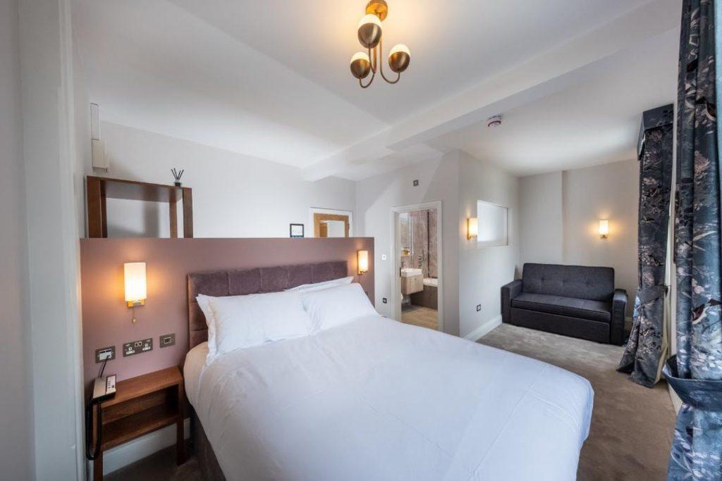 London Food Blog - Hotel Room