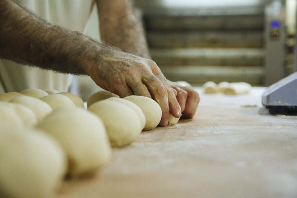 Cheese-Stuffed Dough Balls - London Food Blog