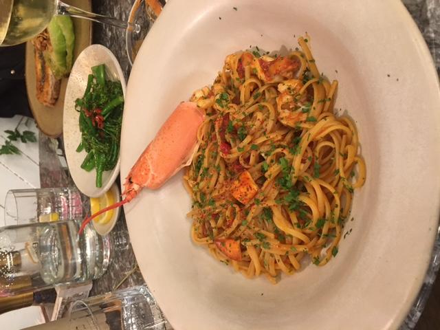 London Food Blog - My&Sanné - Lobster linguine